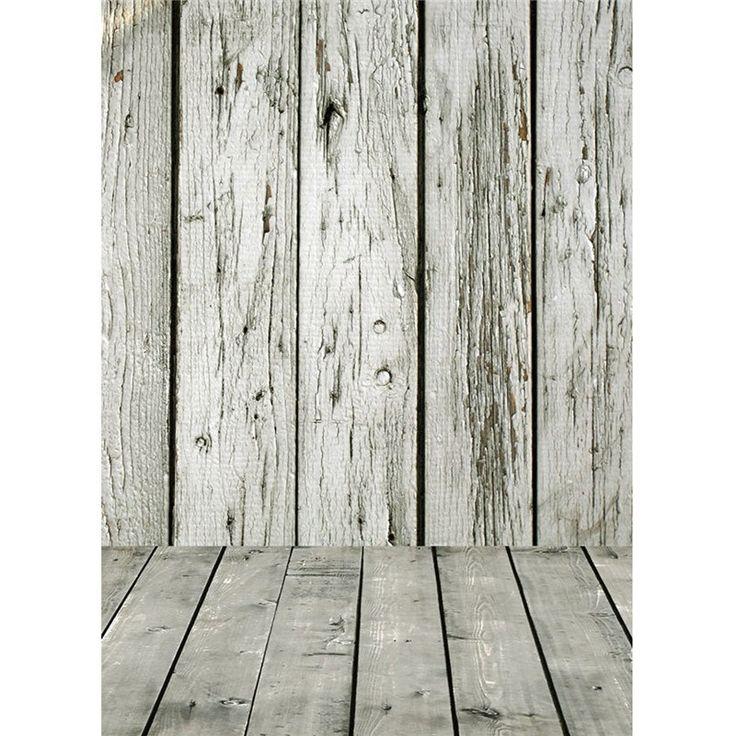 5X7ft деревянный пол стены винила Фото фон для фото студии реквизита…