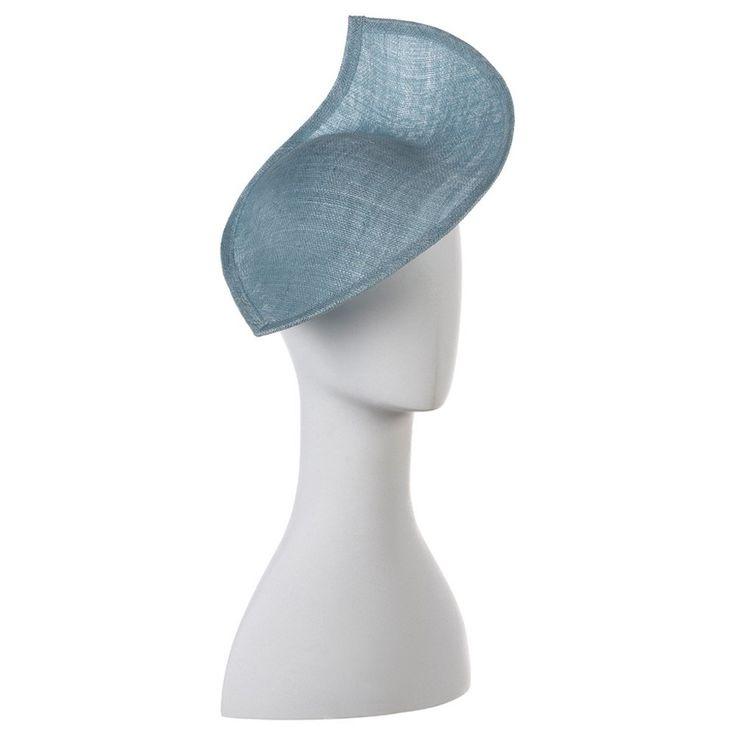LAURA Sinamay Fascinator- RRP $139 - Blue - Olga Berg Handbags and Bags Online