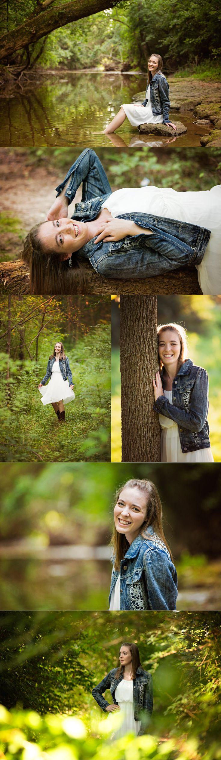 Woods Senior Girl Greenery River Dress Rocks