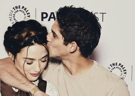 Tyler Posey e Crystal Reed