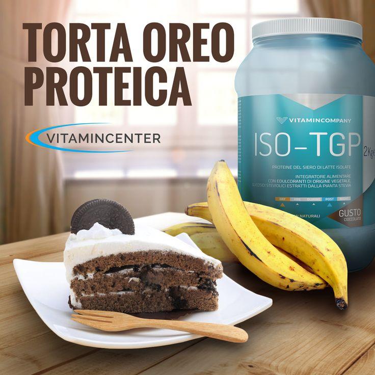 Ricetta proteica della TORTA #OREO: senza latte, senza uova e gustosa: ideale per chi si allena! Cosa aspettate a provarla? #cheatmeal #fitness #vegan #ricette #sport #bodybuilding #italia #proteine #vegan #vegane