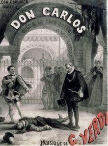 les écureuils de central park sont tristes le lundi: création  @ 11 mars 1867, « don carlos », opéra de...