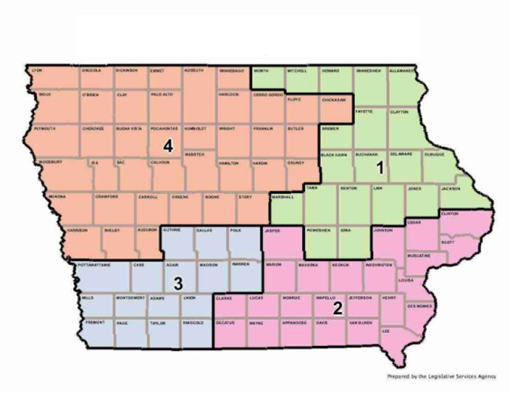 Iowa Fourth District Map