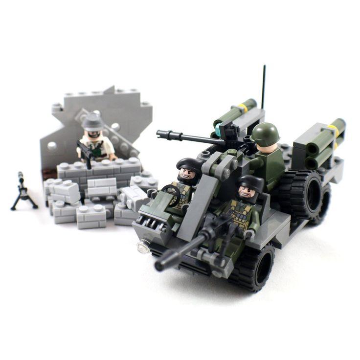 German Army Light Tank - Panzer II Military Building Block Model, Pots & Pans - Amazon Canada