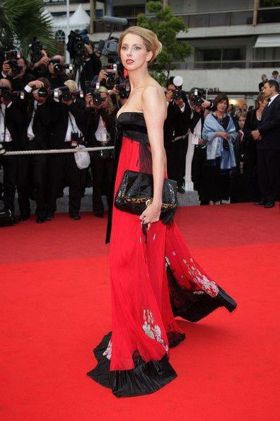 Frédérique Bel à Cannes le 15 mai 2009