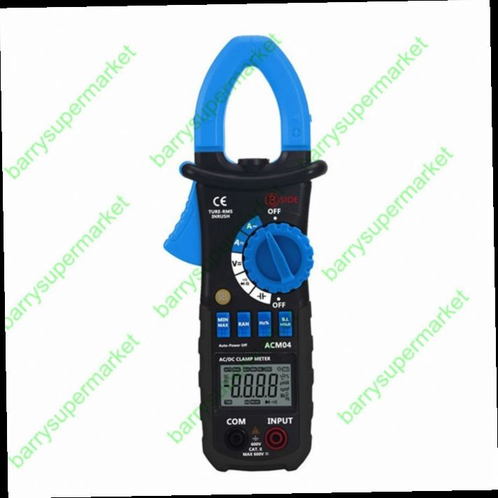 51.80$  Buy here - http://aliro2.worldwells.pw/go.php?t=32677752180 - New ACM04 True RMS Digital AC DC Current Voltage Clamp Meter Multimeter Capacitance Frequency Inrush Current Test vs MS2108 51.80$