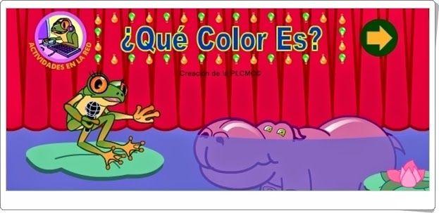 """""""¿Qué color es?"""" (Conceptos básicos de Educación Infantil)"""