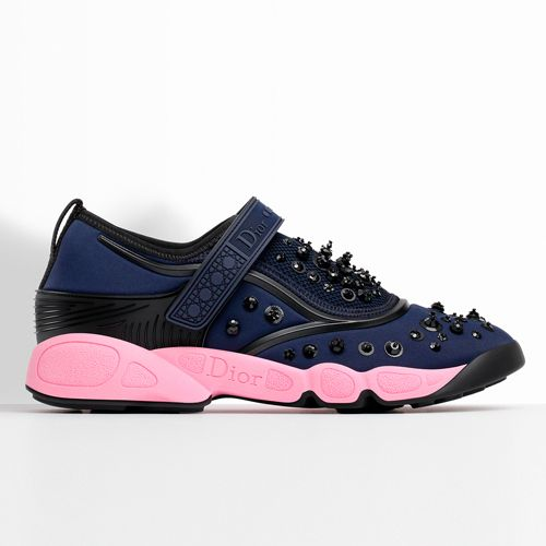 Christian Dior FUSION Sneakers NAVY