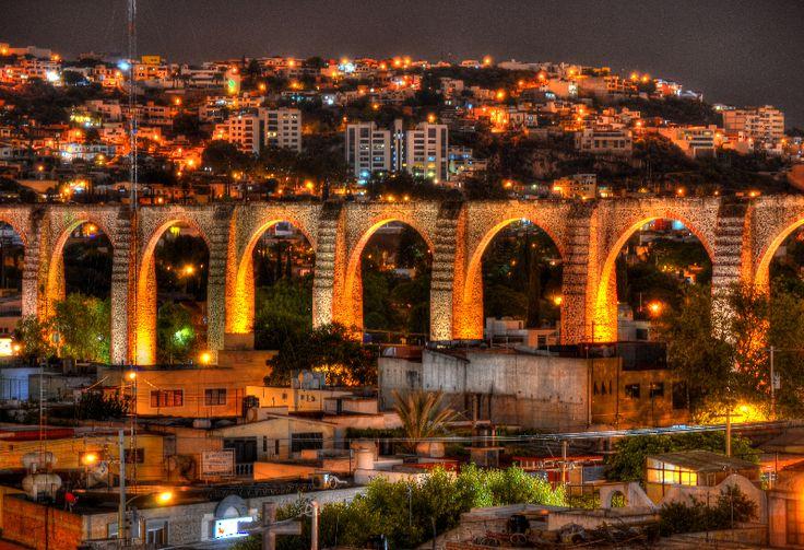 Aqueduct, Santiago de Queretaro, Queretaro, Mexico
