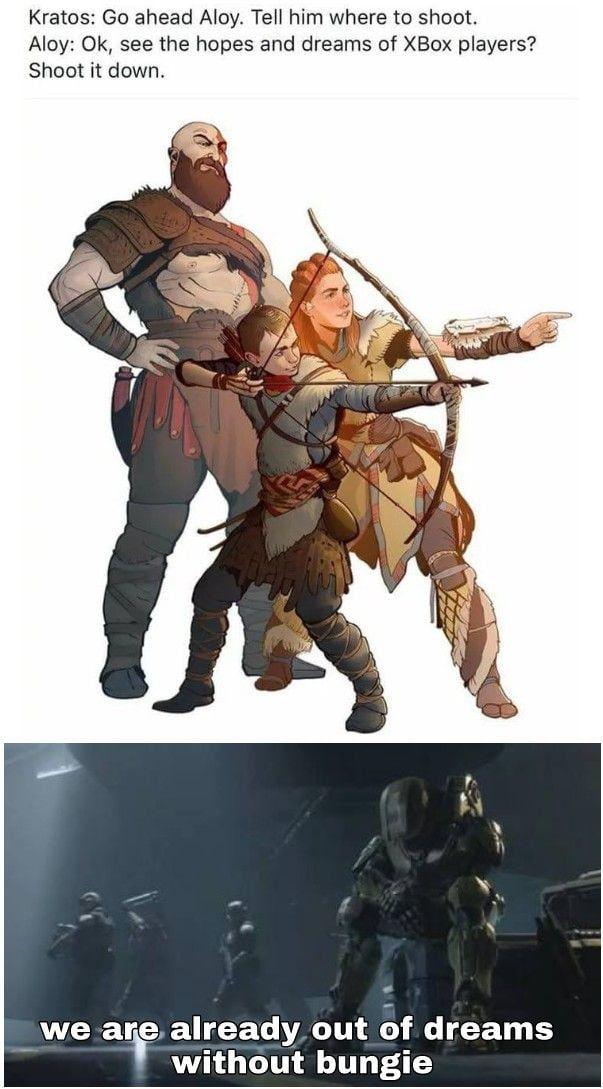 No Need Daily Lol Pics God Of War Boy Meme Funny Gaming Memes