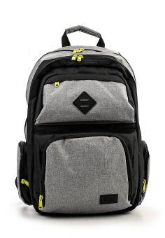 Рюкзак, Animal, цвет: серый. Артикул: AN026BMMGY52. Мужские аксессуары / Рюкзаки / Городские рюкзаки