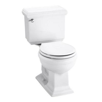 kohler memoirs classic 2 piece gpf round toilet with aquapiston flushing technology in. Black Bedroom Furniture Sets. Home Design Ideas