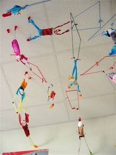 Art, Lessons, and Ephemera Blog: Alexander Calder and the Flying Circus Art Lesson