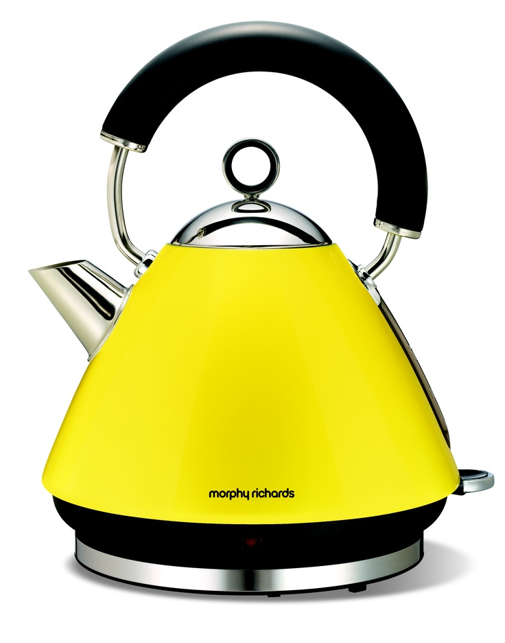 Morphy Richards Lemon Yellow. #kettle #yellow