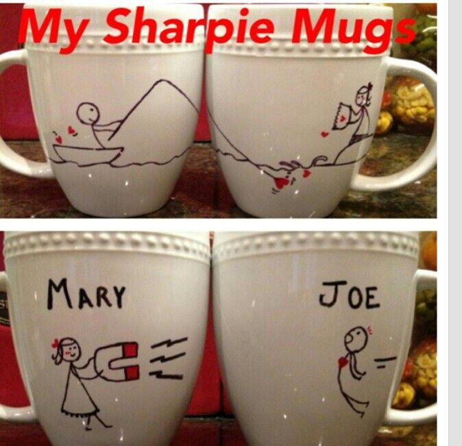 Sharpie mug idea