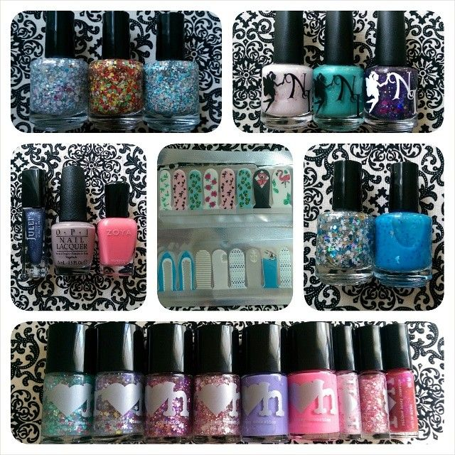 Summer nail polish acquisitions; including Candy Lacquer Polar Unicorns, Candy Cane Fiesta, & Santa's Beach House; Neverland Lacquers Sweet Aurora, Breakfast at Tiffany's, & Once Upon a Dream; Julep Tracy, OPI Taupe-less Beach, & Zoya Wendy; ScratchIt nail wraps with flamingos and sharks; Lumina Lacquer The Childlike Empress & Ellagee Life is de Bubbles (dolphin glitters!); Rainbow Honey Sea Star, All My Stars, Papillon, Sakura Matsuri, Tessie, Cameo 18, Rose Macaron, Pikake, & Ichigo