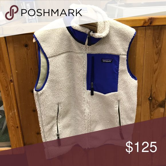Patagonia Retro X Vest New with tags Retro X vest in Natural with Harvest Moon Patagonia Jackets & Coats Vests