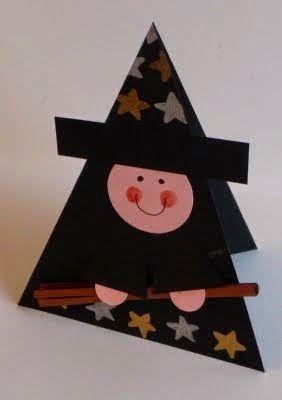 http://craftchaos4kidz.blogspot.be/2009/10/heksenkaartje-witch-card.html
