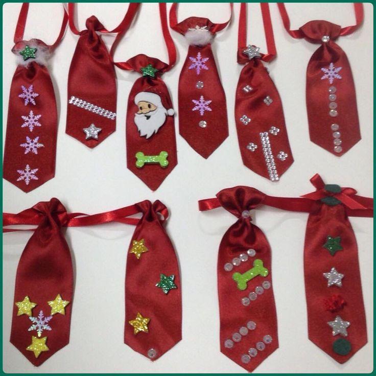 Gravatas de Natal p/ seu pet
