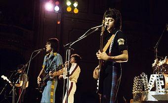 Bay City Rollers; Musikgruppe, Rockmusik, Popmusik; GB - Auftritt - 06.1976