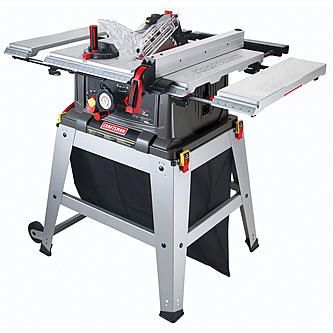 "Craftsman 10"" Table Saw with Laser Trac® (21807)"