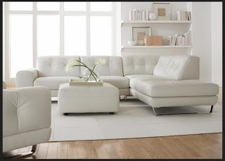 Natuzzi Leather Sofas u0026 Sectionals by Interior Concepts Furniture Look what just came in! : sectional white leather sofa - Sectionals, Sofas & Couches