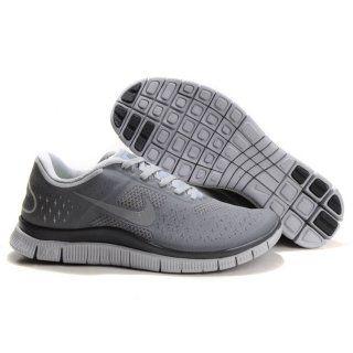 los angeles dd5f9 42d4f Billig imitasjon 2013 Menn Nike Free 4.0 V2 Grå Svart