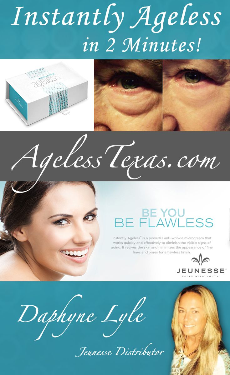 Jeunesse Instantly Ageless Purchase Page