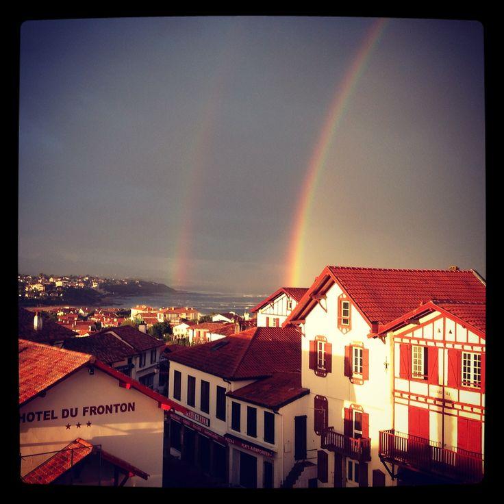 rainbow #bidart #arcenciel #rainbow