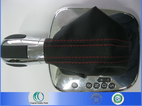 Oem 1999 - 2014 VW POLO черный кожаный сдвиг гандбол с красной линии OEM 6RD 713 203 6RD713203