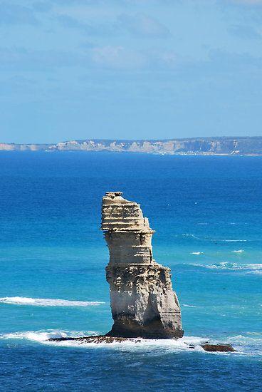 Rock/ Sea by flyingperonis