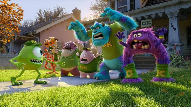 Monster's University << just watched this movie for the first time. Loved it!