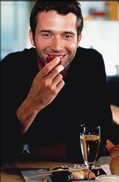 James Purefoy... Joe Carroll in the Killing. I do not trust you and your good looks because you play a serial killer. HAHAHA