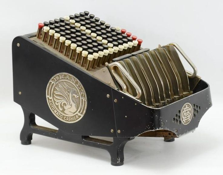 1920 S Brandt Automatic Cashier Coin Counter Mechanical