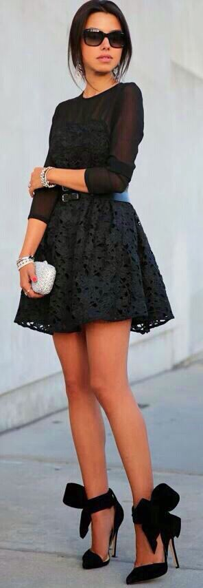 Great LBD and shoes !!