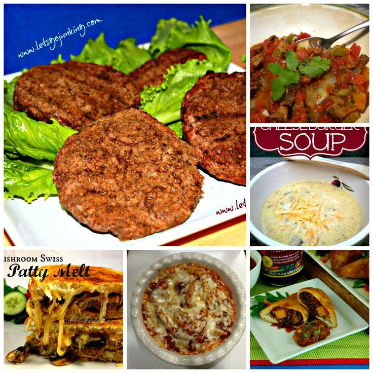 how to make hamburger patties for bbq