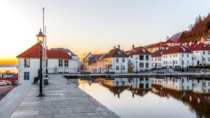 Sunset in Skansen HDR - null