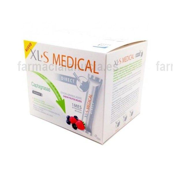 XLS Medical Captagrasas Direct 90 Sticks Granulados
