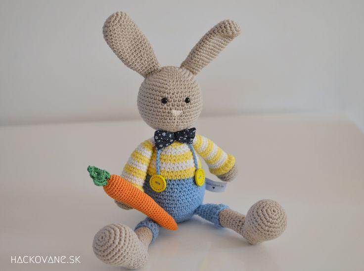 Crochet rabbit  https://www.facebook.com/hackovane.sk/photos/a.1563096127270887.1073741831.1555552461358587/1905320573048439/?type=3&theater