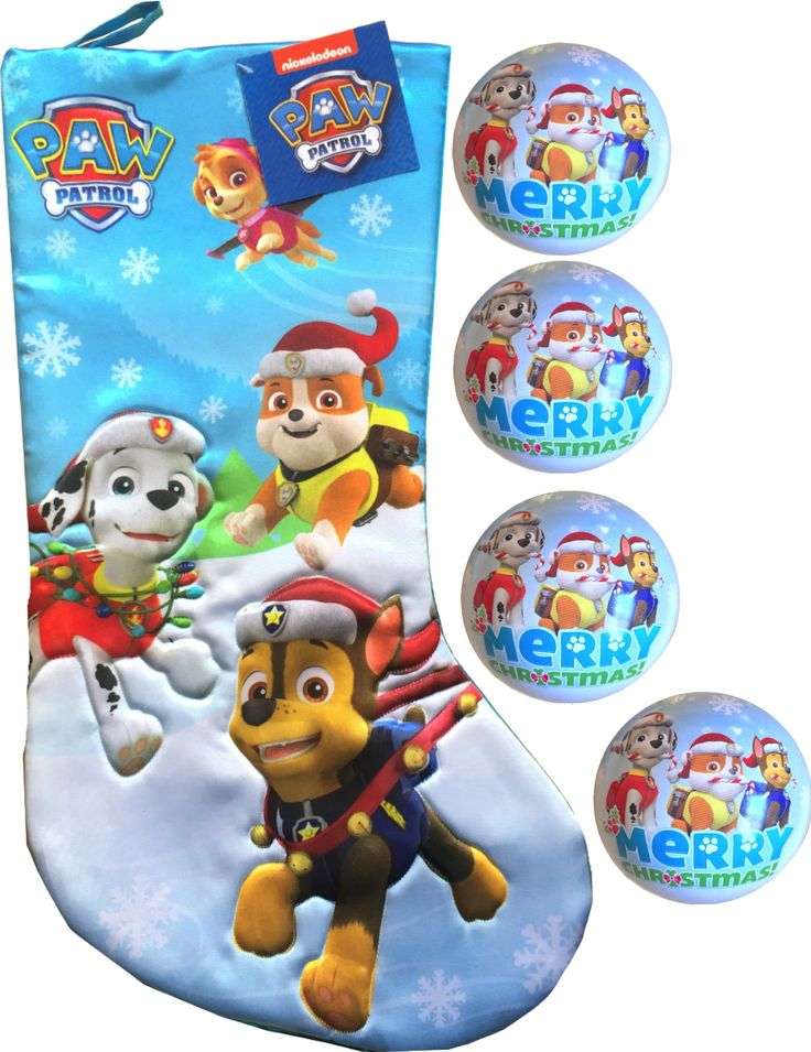 Paw Patrol Christmas ornaments will be as big a hit as Santa Claus at your house! You may want more than one of these Paw Patrol Christmas ornaments.