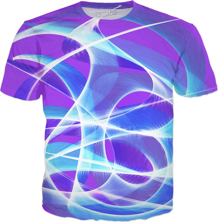 Waves Pink T-Shirt by Terrella available at https://www.rageon.com/products/waves-pink-1?aff=BSDc on RageOn!