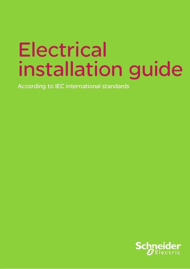 FREE COPY - 2015 LV MV Electrical Installation Guide 2015 By Schneider Electric