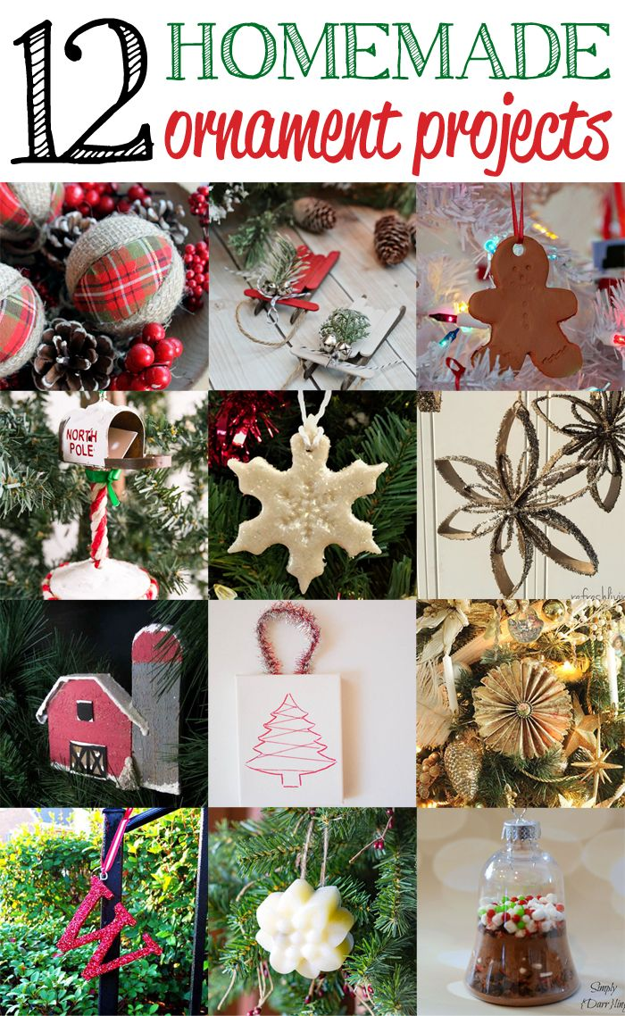 Welcome back to Inspiration Monday! We can't wait to see what you've been up too, you're going to love the ornament ideas from last week's party! It's the first party in December…buckle up for LOADS of holiday inspiration! Today, we've got a full dozen features for you…12 Homemade Ornament Projects linked up to last week's …