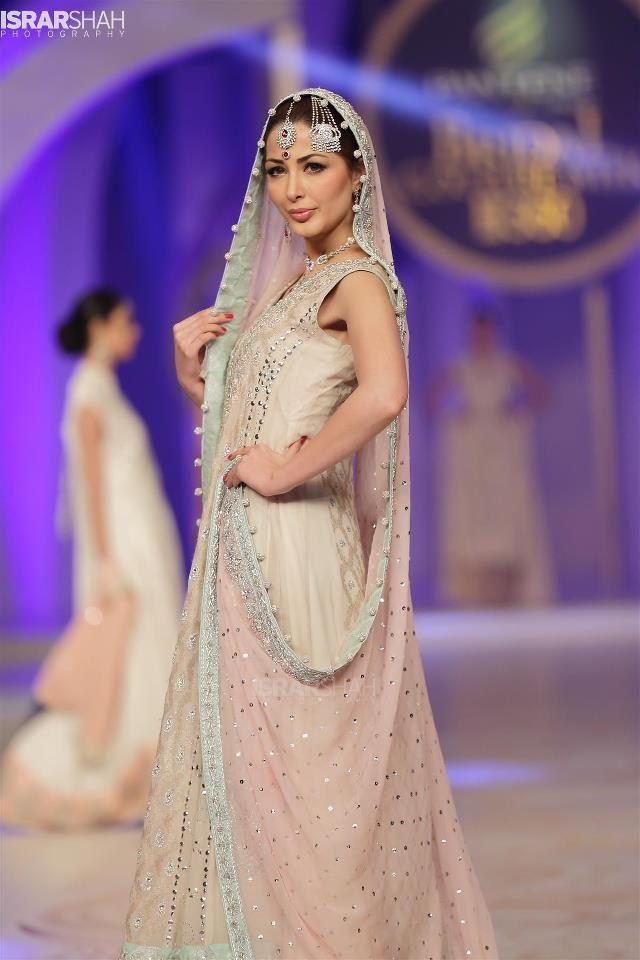 Lujoso Señoras Vestidos De Novia De Pakistán Cresta - Vestido de ...