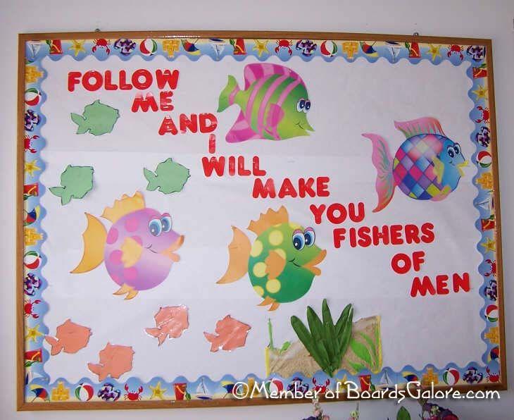 Fishers of Men, bulletin board