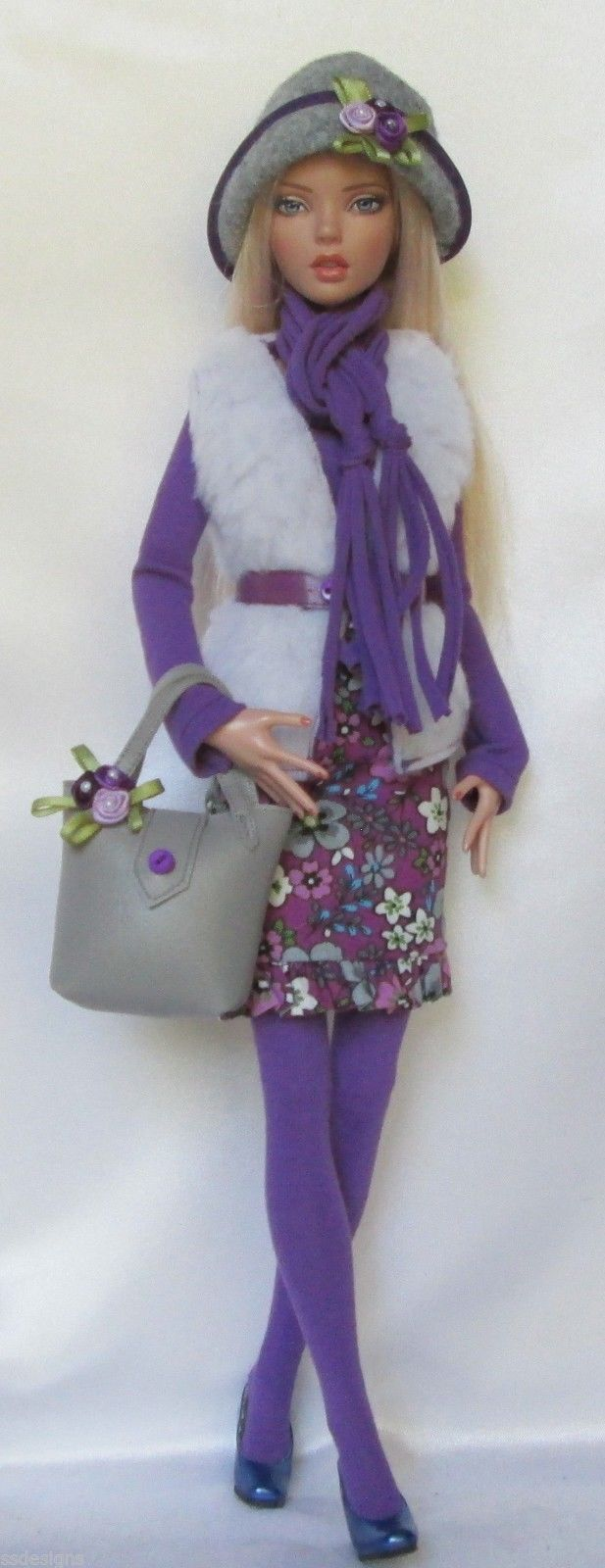"""Penelope's Purple Passion for 16"""" Tonner Deja Vu Made by Ssdesigns   eBay"""