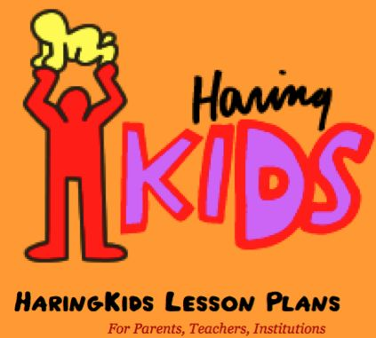Keith Haring art activities from Haring-Kids!
