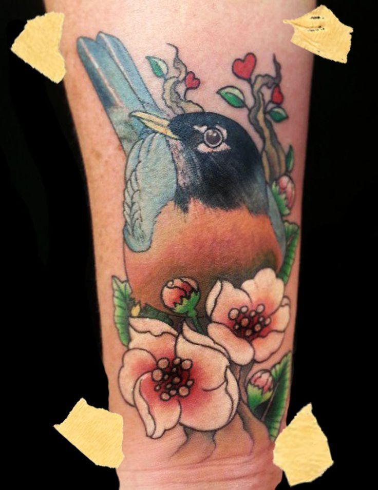 30 Apple Blossom Tattoo Designs