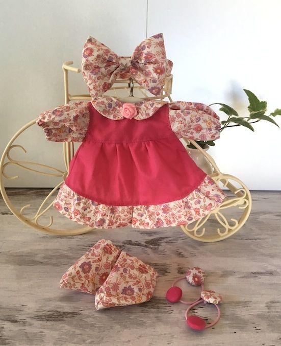 メルちゃん ピンクのワンピースセット画像1