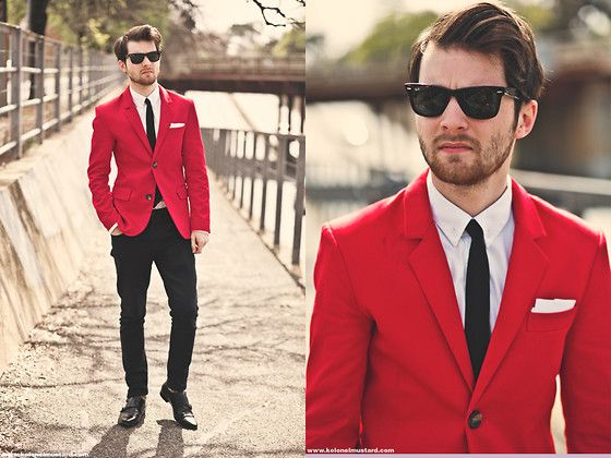 1000  ideas about Red Blazer Mens on Pinterest | Gq mens style ...